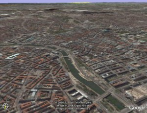 Wien Satellitenbild