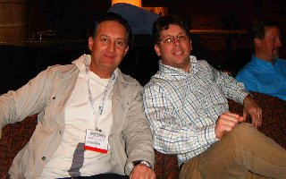 SES New York 2006 - Hilton Bar - Christoph Pichler - Danny Sullivan
