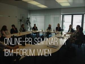 Online-PR-Seminar