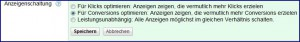 AdWords-Anzeigen-Conversion